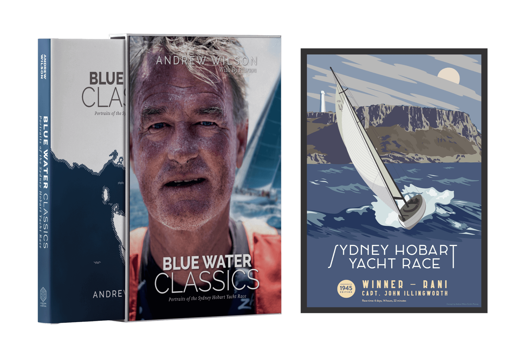 New! Blue Water Classics Signed and Numbered Deluxe Edition
