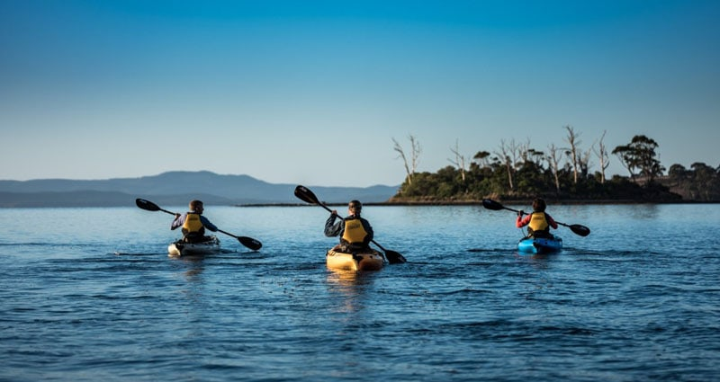 Commercial Photography for Esperance Kayak Adventures