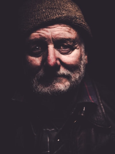 Portrait photography of Brian