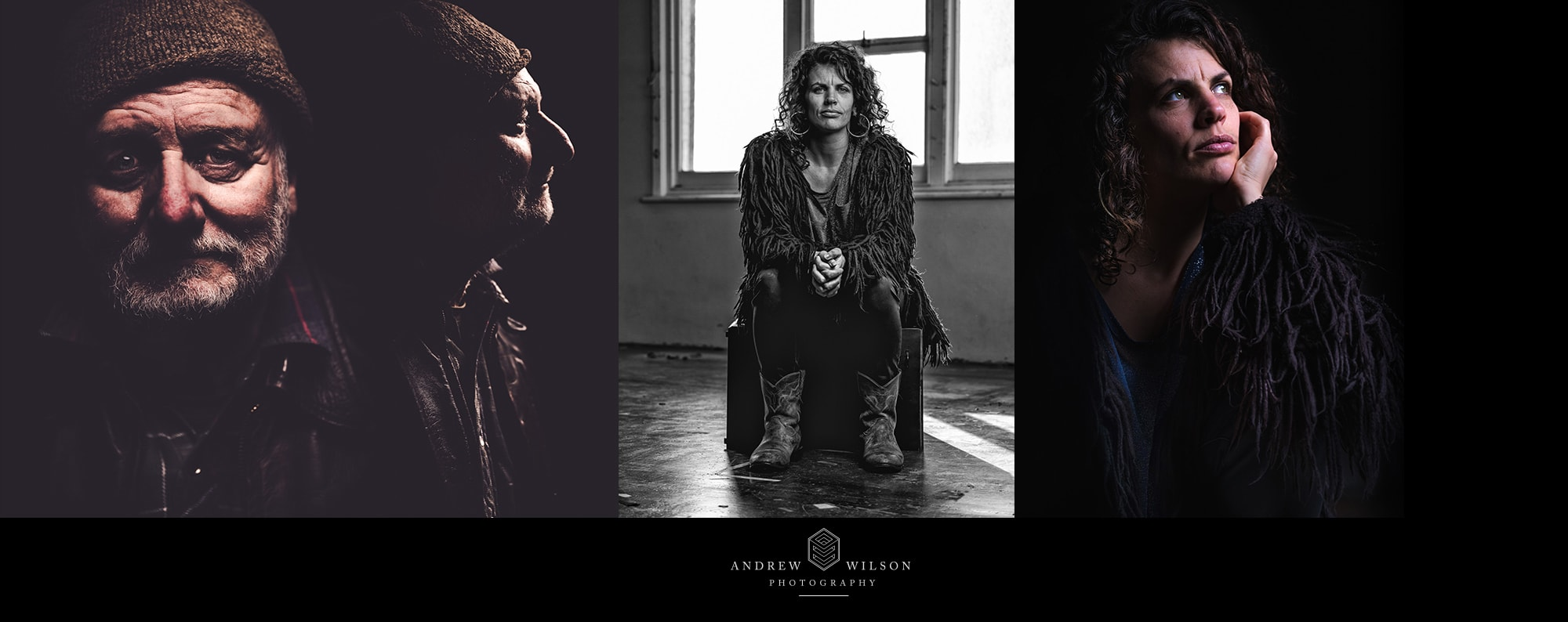 Image of portrait photography by Andrew Wilson