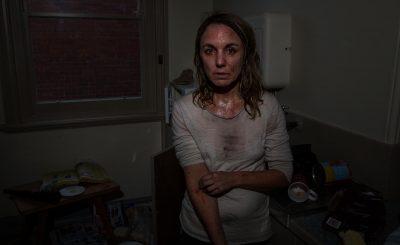 Portrait photography of a meth addict