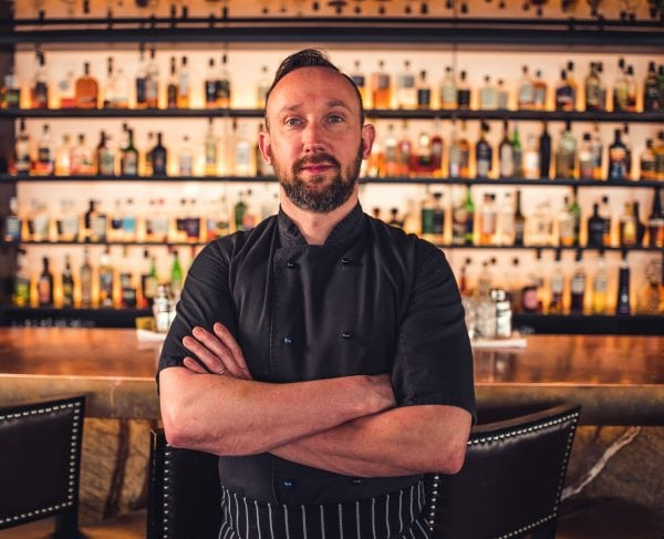Portrait photography of a chef