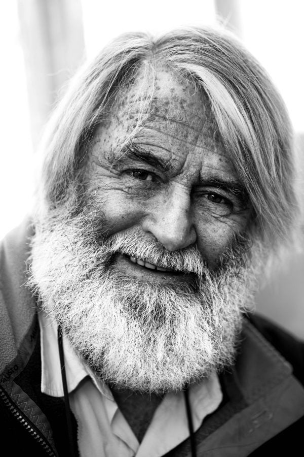 Portrait photography of Richard Bennett