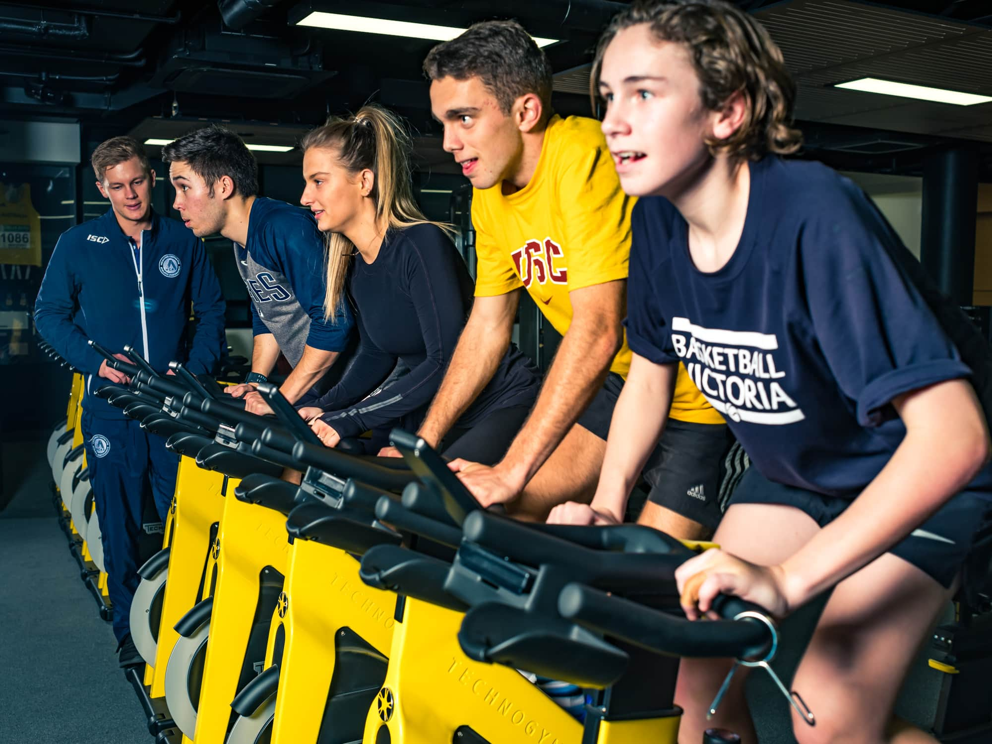 Sports Photography Melbourne Centre Athletic Performance bikes